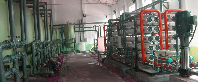 Промышленная установка нанофильтрации