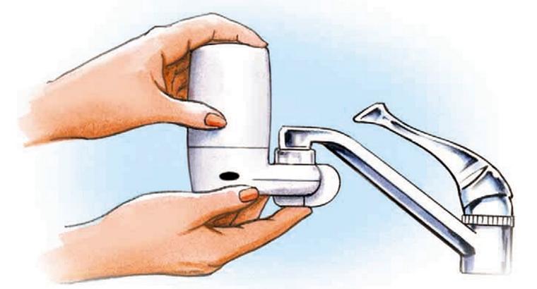 Фильтр воды насадка на кран