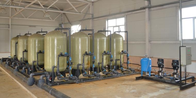 Станция хлорирования воды