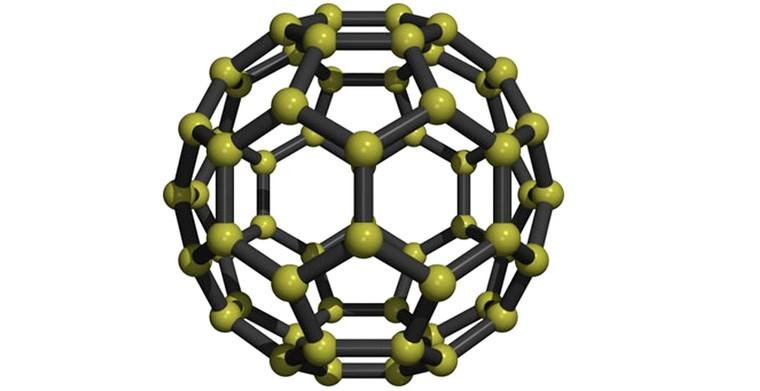 Фулерен молекула шунгита