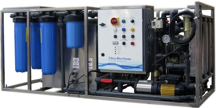 Очистка воды озоном